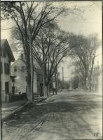 Old view of Hill Street, Biddeford, 1916
