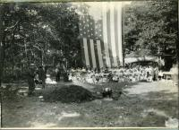 Ancient and Honorables picnic, Biddeford, ca. 1910