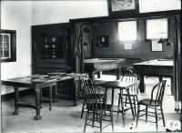 Parish house interior, 1909