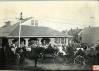 President Taft visiting Biddeford Pool, 1910