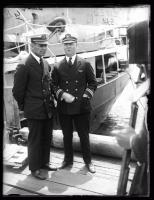 Naval Officers, Wiscasset, 1925