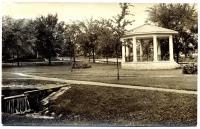 Park in Millinocket, ca. 1920