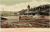 Portland & Rumford Falls Railway Station, Rumford Falls, ca. 1911