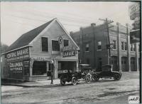 Central Garage, Biddeford,  1915
