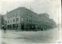 Corner of Main Street and Alfred Street, Biddeford, 1913