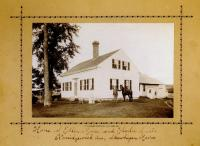 Home of Ellen Moore and Charles Smith, Skowhegan, ca. 1890