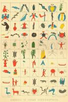 Indian Hieroglyphics, 1851