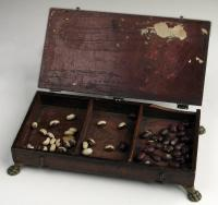 Maine Historical Society Library attendance box, ca. 1900