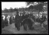 Wabanaki people escort Gov. Milliken Portland, 1920