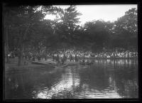 Wabananki canoes at the Maine Centennial, Portland, 1920