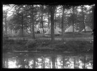 Indian encampment, Portland, 1920