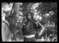 Noel Sabattus and Sabbattus Mitchell at the Maine Centennial, Portland, 1920