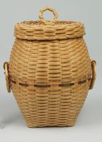 Penobscot miniature hamper, ca. 1960