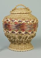 Passamaquoddy fancy basket, Perry, 1996