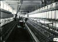 Spinning Room of Pepperell Mills, Biddeford, 1910