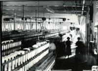 Women Spinning at Pepperell Mills, Biddeford, 1910