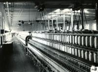 Vacant Spinning Room in Pepperell Mills, Biddeford, 1910