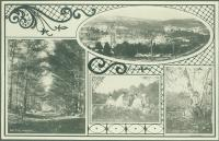 Scenic views, Maine State Sanatorium, Hebron, ca. 1909