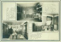 Lab, examining room, Maine State Sanatorium, Hebron, ca. 1909