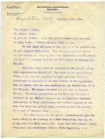 Brief history of Maine Sanatorium, 1909