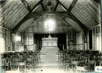 Fortune's Rocks: Interior of Saint Philips by the Sea, 1909-1910