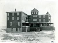Almost completed Tannesau Hotel, Fortunes Rocks, March 3, 1909