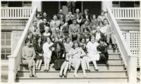 Group at Western Maine Sanatorium, 1929