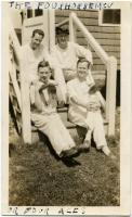 Four patients, Western Maine Sanatorium, 1928