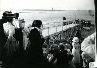President Taft arrives in Biddeford Pool, July 28, 1910