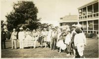 July 4 revelers, Western Maine Sanatorium, Hebron, 1928