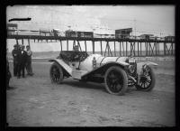 Automobile racing, Old Orchard Beach, 1912