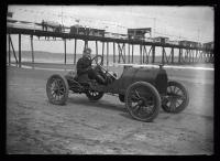 Race car, Old Orchard Beach, 1912