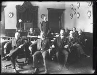 Governor Percival P. Baxter and Council, Augusta, 1923