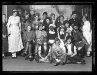 Costume party, Portland School of Art, 1928