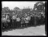 Crowd, Kittery-Portsmouth Bridge opening, 1923