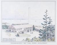 Boiler house, Passamaquoddy Tidal Power project, Eastport, 1935
