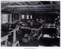 Camp Mechano shop, South Casco, ca. 1924
