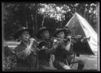 Buglers, North Sebago, 1921
