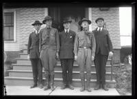 Boy Scout leaders, South Portland, 1921