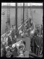 Embarkation of MacMillan Expedition, Wiscasset, 1926