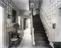 Front hallway, Wadsworth-Longfellow House, Portland, 1902