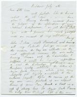 Hannah Pierce on July 4 observance, 1834