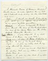 Copy of Hannah Pierce will, 1873