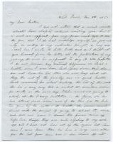 Hannah Pierce letter about nieces, sister, 1850