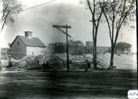 Demolition of mill boarding houses, Biddeford