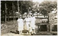 Staff members, Pownal State School, 1941