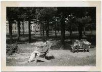 Three residents, Pownal State School, ca. 1940