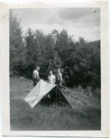Camping, Bradbury Mountain, Pownal, ca. 1940