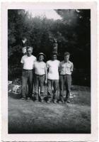 Bradbury State Park campers, Pownal, ca. 1955