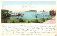 Bar Harbor from Newport House, Mt. Desert Island, ca. 1901